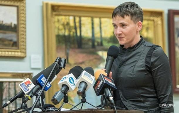 Савченко высказалась относительно Волынской резни