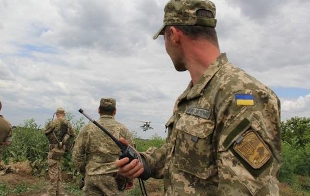 Потери в АТО: двое военных погибли, восемь ранены