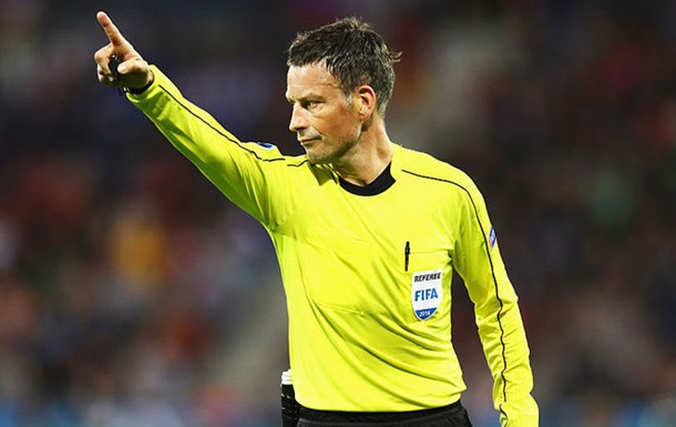 Стал известен арбитр финального матча Евро-2016