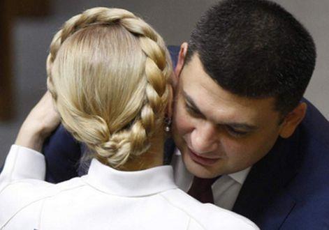 Гройсман против Тимошенко