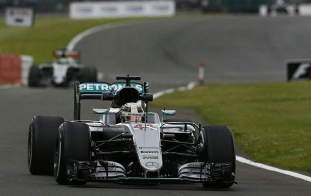 Формула-1. Гран-при Великобритании. Хэмилтон — быстрейший во второй тренировке