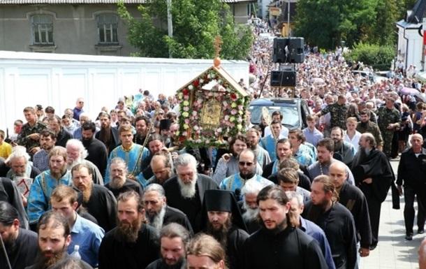 В Крестном ходе УПЦ пройдут десять тысяч паломников