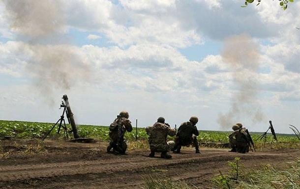 На Донбассе растет число обстрелов из минометов