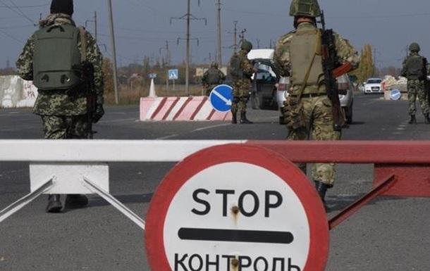 Обстрел КПП Марьинка: ранен пограничник