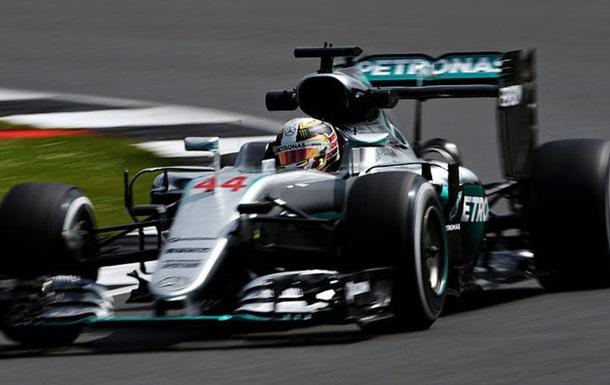 Формула-1. Гран-при Великобритании. Хэмилтон — лучший в третьей тренировке