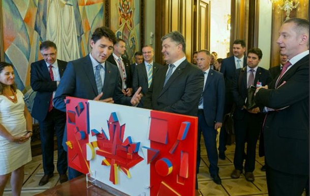 Киев и Оттава начнут консультации по отмене виз
