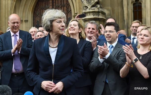 Мэй избрана главой Консервативной партии Британии
