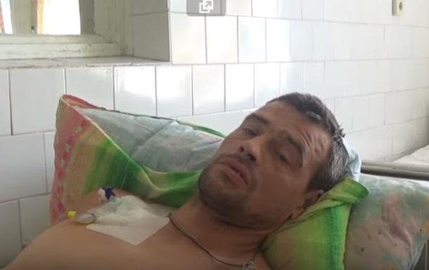 СБУ показала захваченного на Донбассе россиянина