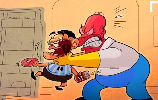 Легендарный футболист поругался с героем мультфильма