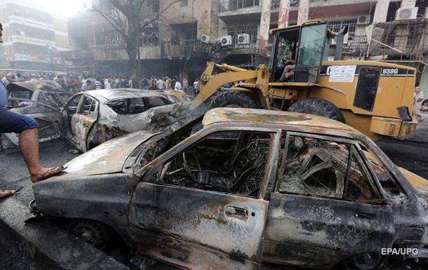 В Багдаде взорвался заминированный автомобиль - СМИ