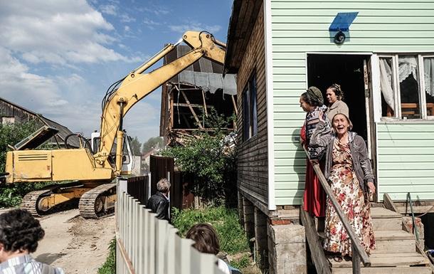 Под Тулой снесли все дома цыган