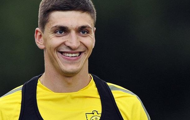 Игрок сборной Украины уехал в Россию