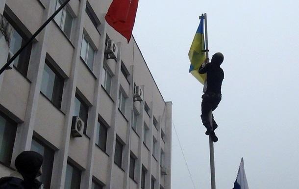 Затримано одного з учасників штурму маріупольської міськради
