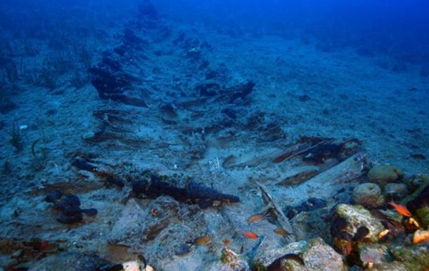 В Эгейском море найдены затонувшие древние корабли