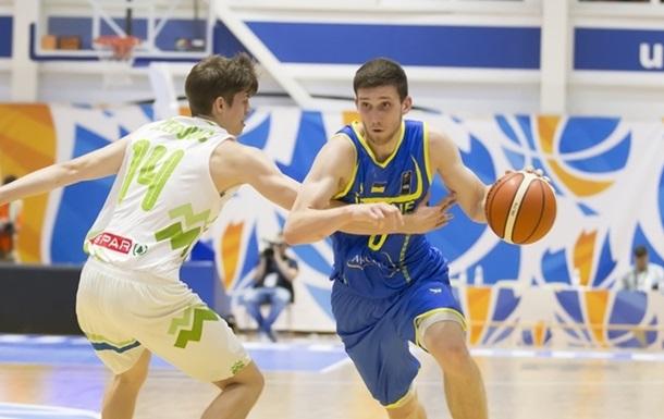 Украина упускает победу над Словенией