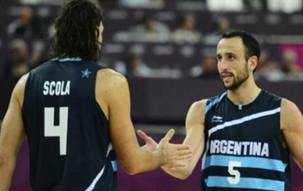 Окончательная заявка сборной Аргентины по баскетболу на Олимпиаду