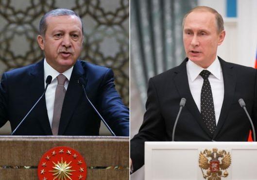 Друзья-диктаторы Путин и Эрдоган за Конституцию