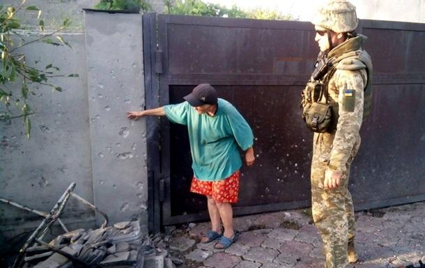 Сутки в АТО: у Донецка стреляют из минометов