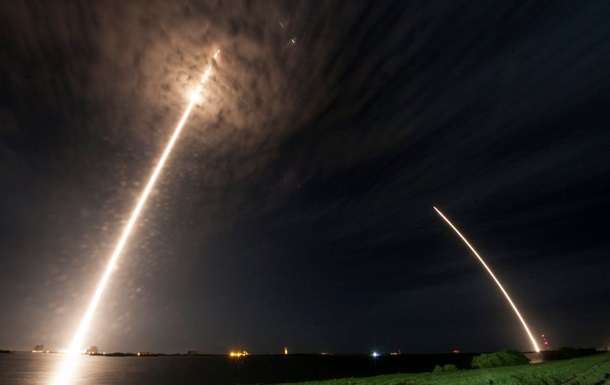 SpaceX успешно посадила Falcon 9 на землю