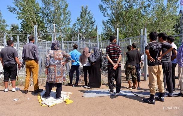 Массовая драка мигрантов в Венгрии, есть пострадавшие