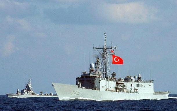 Турция недосчиталась 14 военных кораблей