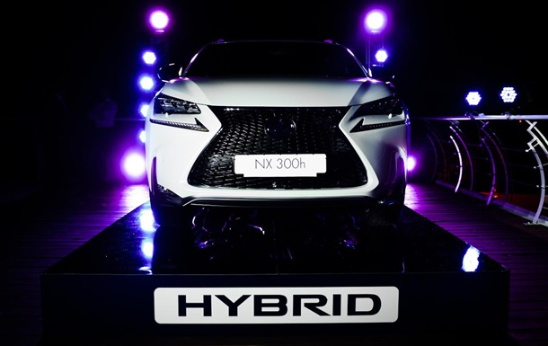 Lexus NX 300h на «Jetsetter Ice Party» в Одессе