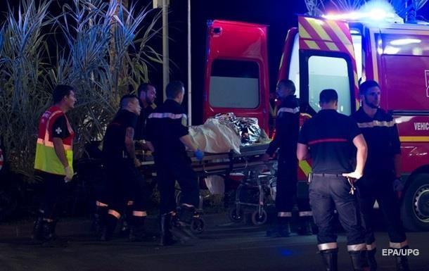 Жертвами теракта в Ницце стали 38 иностранцев
