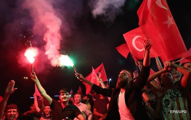 Турция отказалась от Конвенции по правам человека