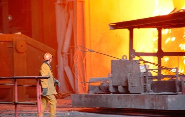 Промышленность Украины снова падает
