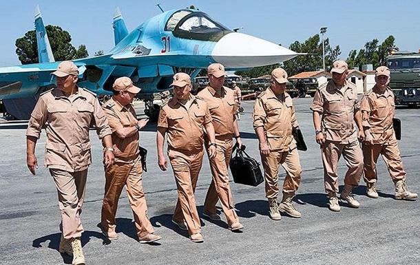 Россия сменила командующего в Сирии