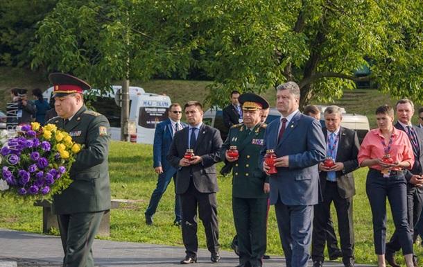 Порошенко сожалеет о решении Польши по Волыни