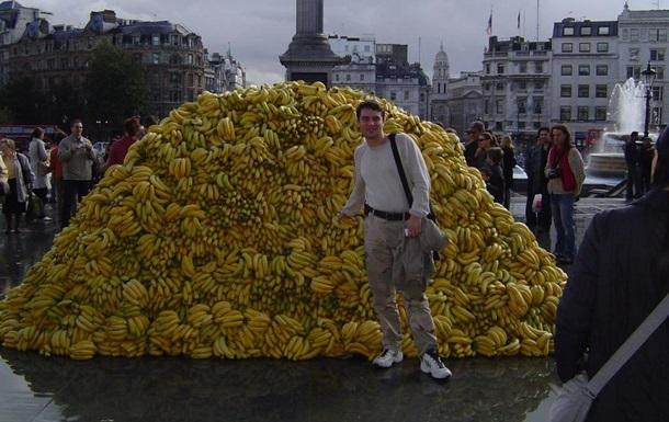 Британцы выбрасывают свыше 160 миллионов бананов в год