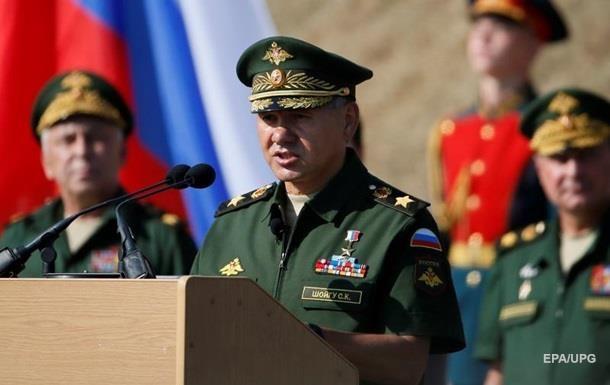 МИД Украины направил РФ ноту протеста из-за визита Шойгу в Крым