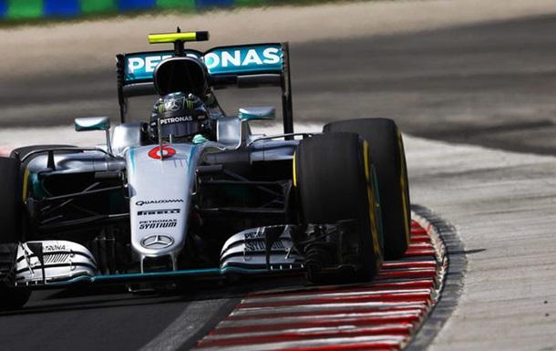 Формула-1. Гран-при Венгрии. Росберг — лучший в третьей тренировке