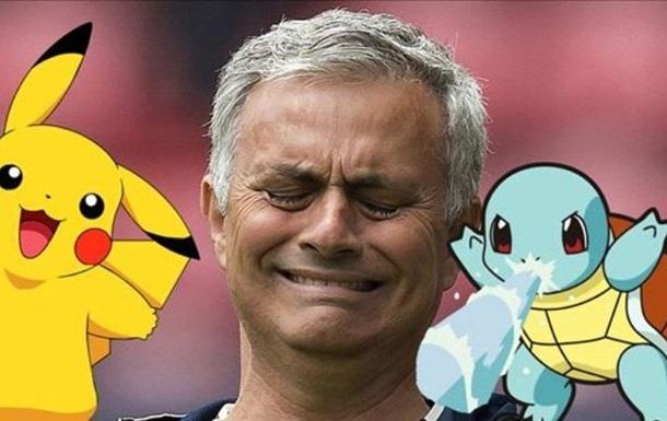 Моуриньо запретил своим футболистам играть в Pokemon Go