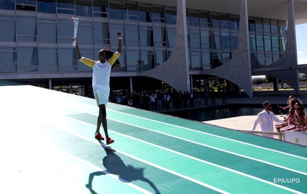 В Бразилии попытались украсть Олимпийский огонь
