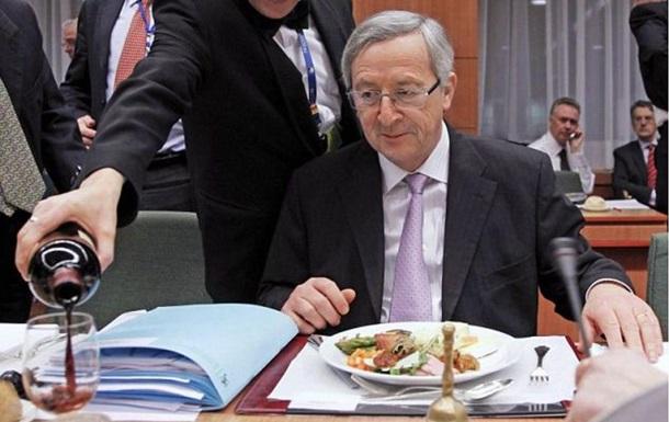 Руководителя Еврокомиссии уличили валкоголизме