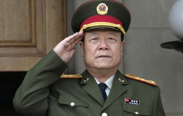 Генерал в Китае получил пожизненный срок за взятки