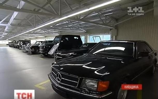 Силовики недосчитались арестованных машин Януковича