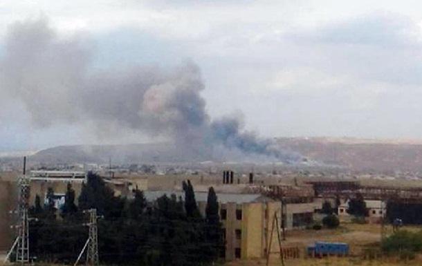 Во время взрыва на заводе в Азербайджане погибли двое людей