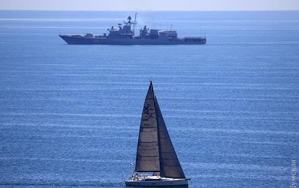 В районе украино-американских учений были замечены корабли России