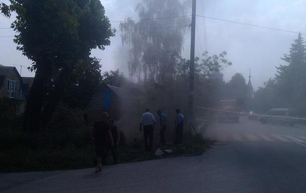 В Киевской области прорвало газопровод