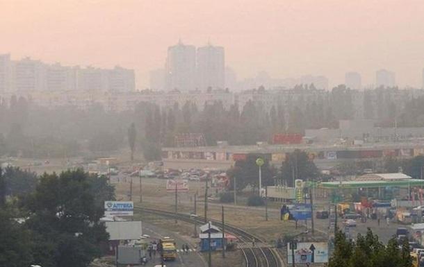 В Киеве из-за жары загрязнился воздух