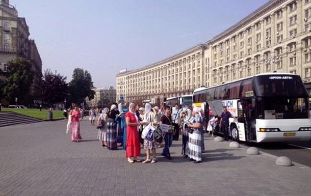Движение в Киеве восстановили после Крестного хода