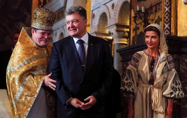 Порошенко: УПЦ объединит только Константинополь