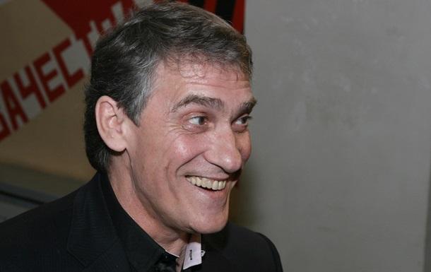 Актер Валерий Гаркалин попал в больницу
