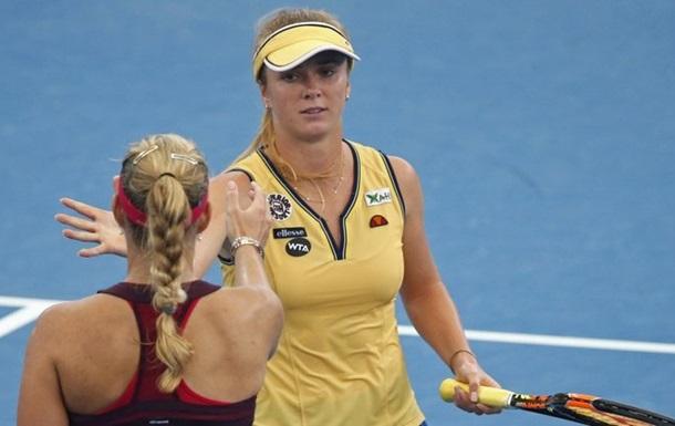 Украинка Свитолина бесславно покинула парный турнир в Канаде
