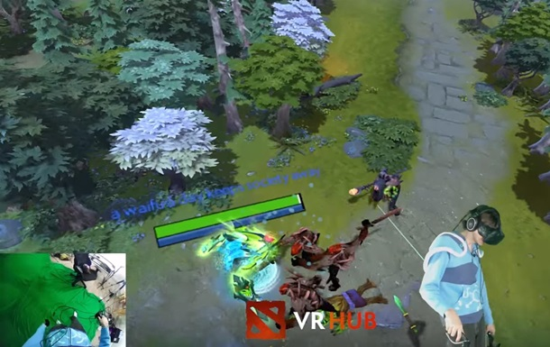 Dota 2 вышла в виртуальную реальность