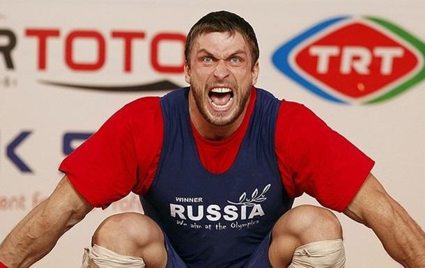 Российских тяжелоатлетов не допустили к Олимпиаде