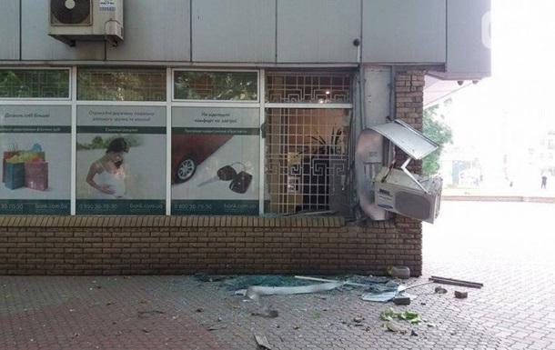 В Запорожье возле банка прогремел взрыв